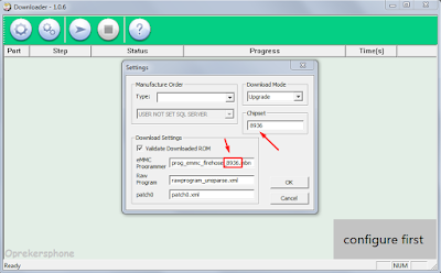 Cara Flashing Coolpad y60-c1 (lengkap) dengan mudah