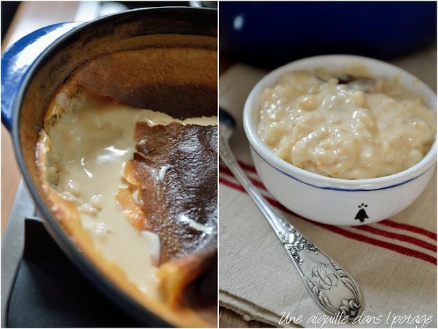Riz au lait crémeux à l'ancienne (cuisson au four)