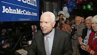McCain Portrays Immigration Record Differently In English And Spanish