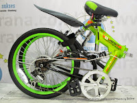 20 Inch United Quest FX02 Full Suspension Folding Bike