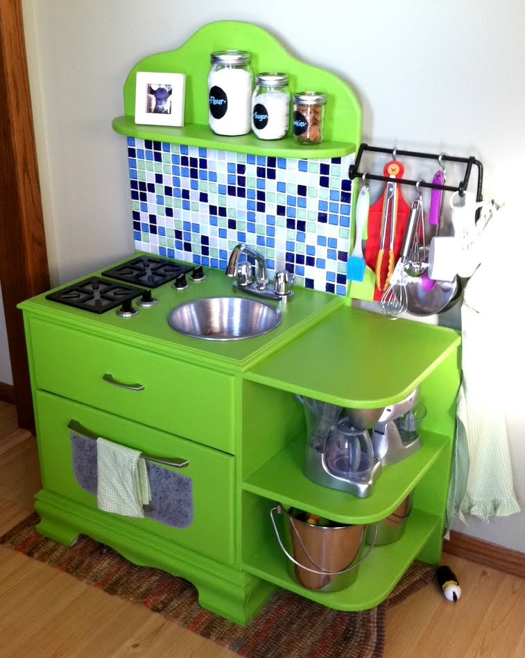 Sassy Cows and Fancy Things DIY Childrens Play Kitchen