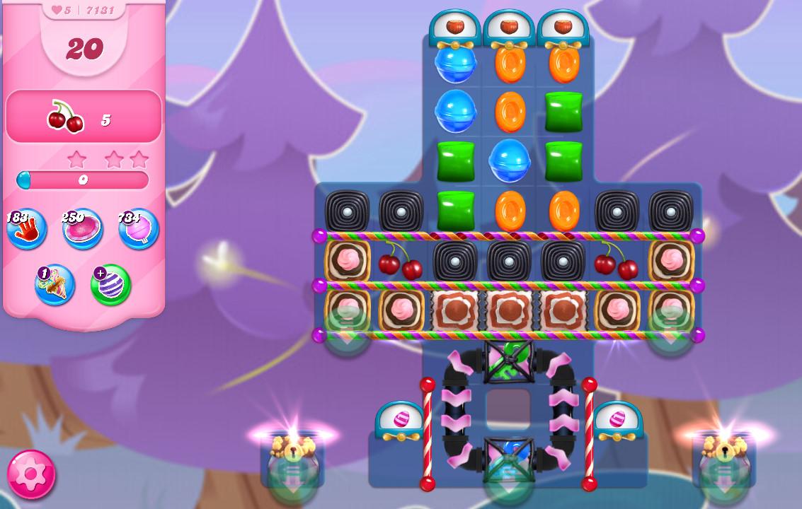 Candy Crush Saga level 7131