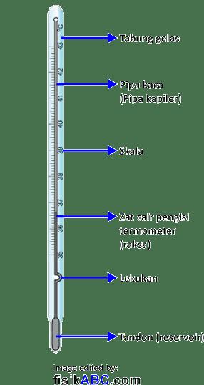Prinsip Kerja Termometer Zat Cair (Raksa dan Alkohol)