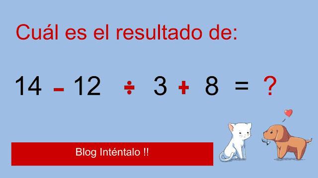 Matematicas que agilizan la mente