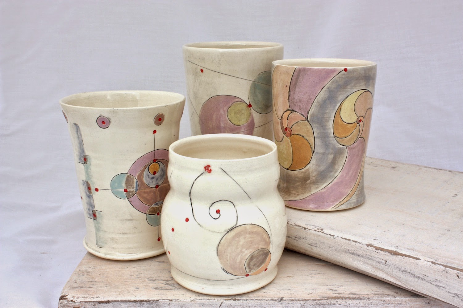 Four new tumblers on Etsy
