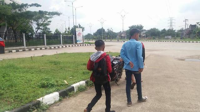 Area Stadion GBLA Kerap Jadi Ajang Balap Liar dan Tempat Nongkrog Anak Sekolah