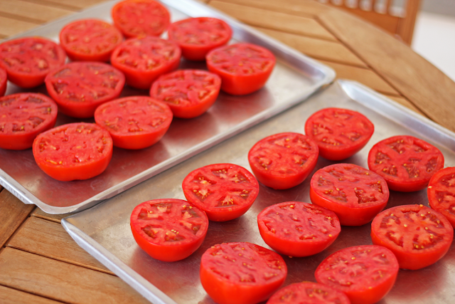Σπιτικές Λιαστές Ντομάτες