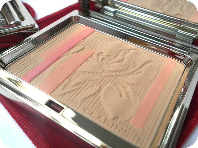 Clarins Palette Eclat Face and Blush Powder
