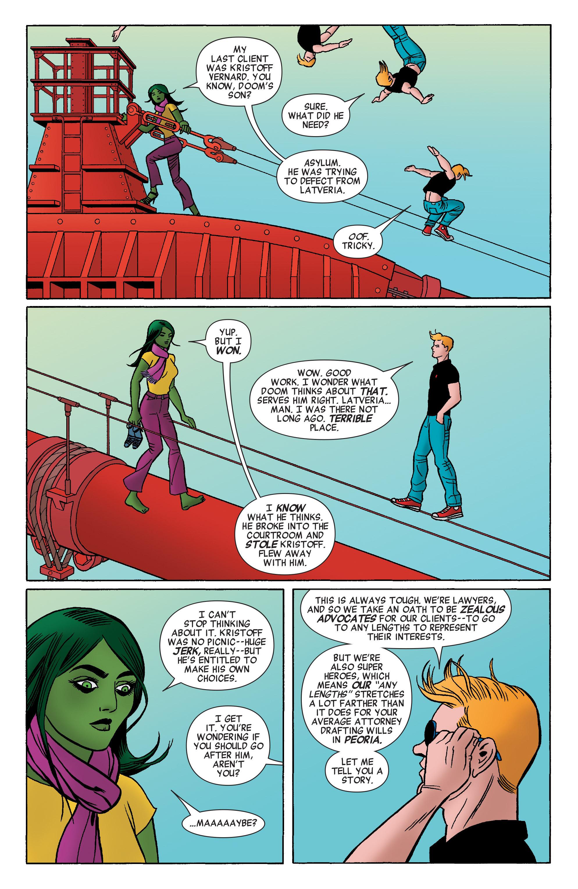 Read online She-Hulk (2014) comic -  Issue #4 - 5