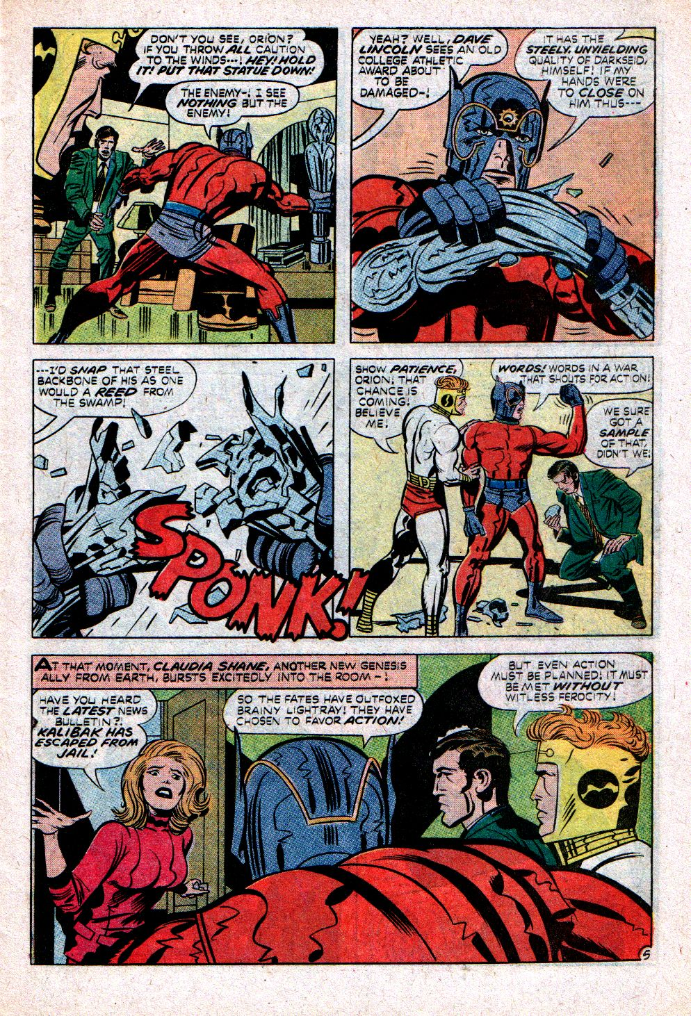 The New Gods (1971) issue 11 - Page 7