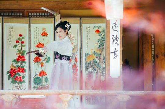 Seohyun Beauthiful Hanbok