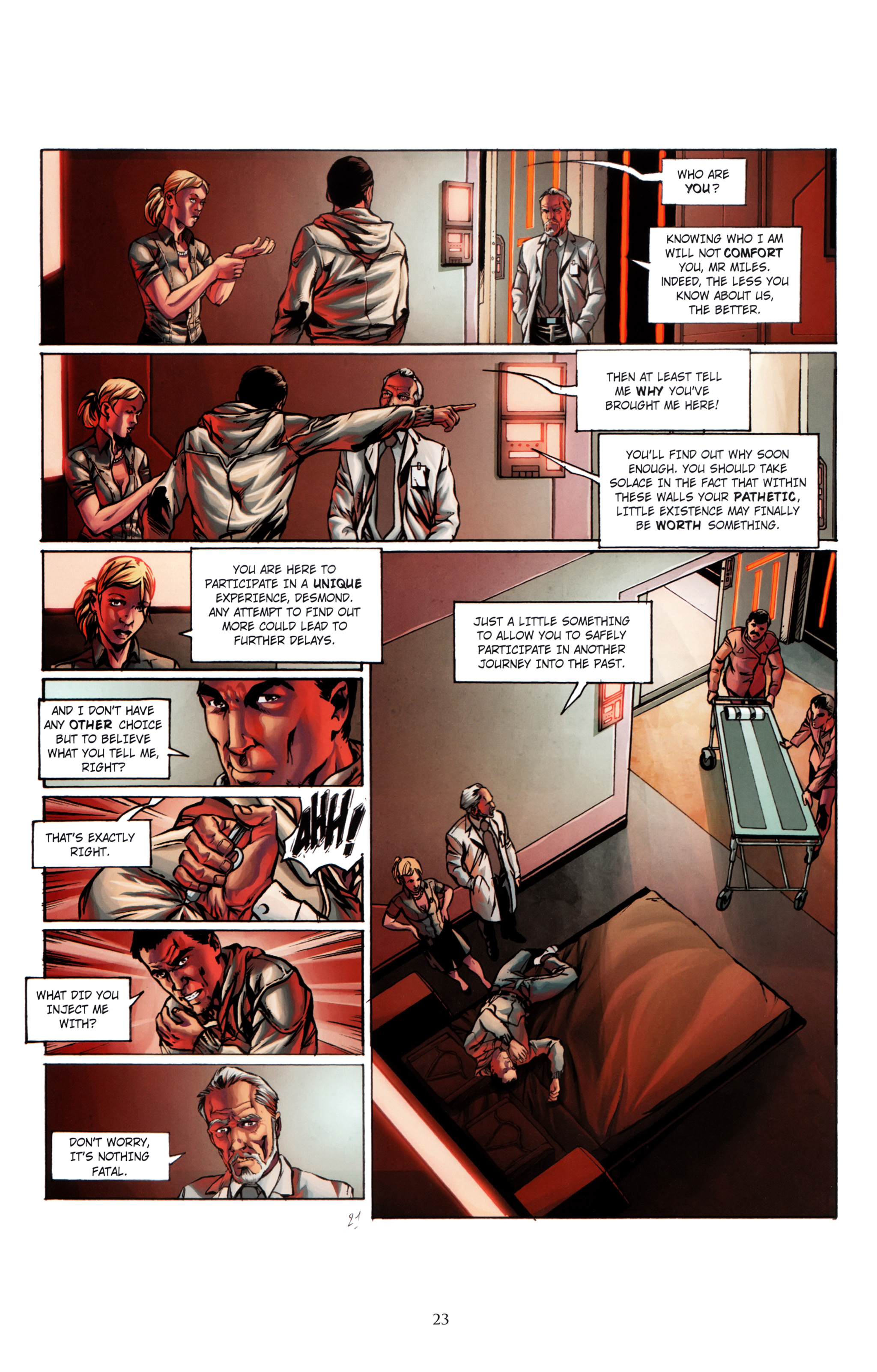 Read online Assassin's Creed (2012) comic -  Issue #1 - 27