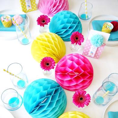 Table Color POP pour la Fête des Mères