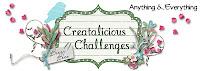 Creatalicious Challenges