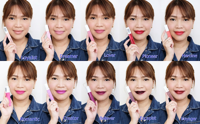 a photo of Maybelline Super Stay Matte Ink Review by AskMeWhats Nikki Tiu