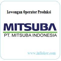 Lowongan PT MITSUBA INDONESIA Operator Produksi
