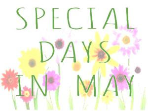 May's Special Days