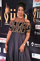 Sanjjanaa Galrani aka Archana Galrani in Maroon Gown beautiful Pics at IIFA Utsavam Awards 2017 21.JPG