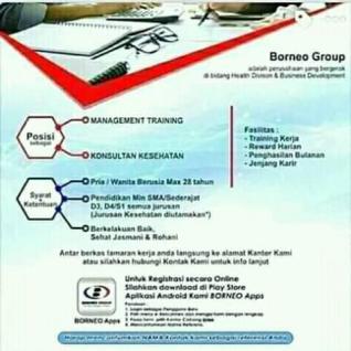 Lowongan Kerja Cabang Borneo Group di Makassar
