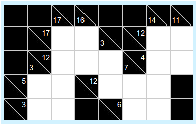 image about Cross Sums Printable identify Kakuro - cross-sums puzzle