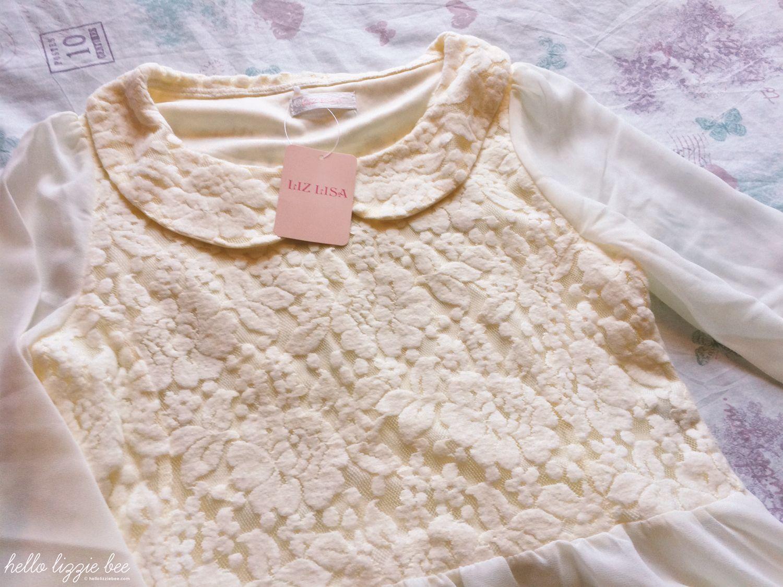 blouse closeup