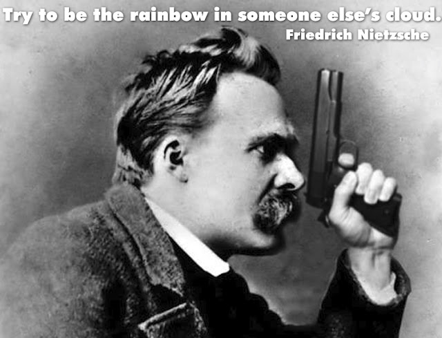 Utterly real Nietzsche quote
