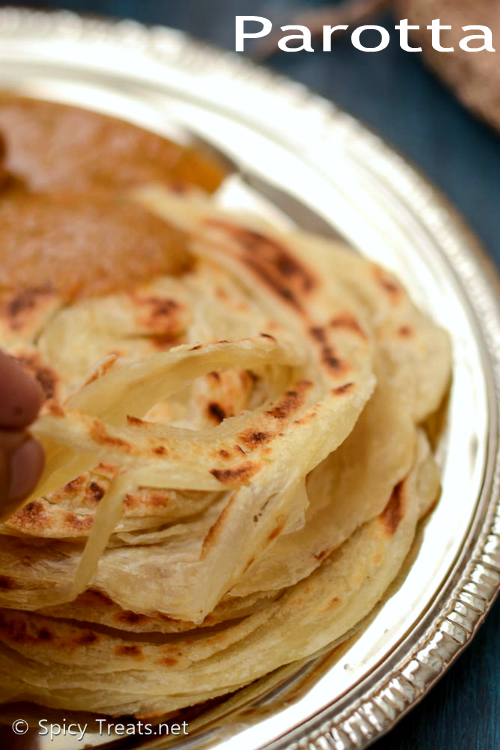 Parotta Stepwise Recipe