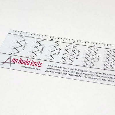 knitters stitch gauge ruler for sale at https://www.etsy.com/shop/FriendsinFiber?ref=l2-shopheader-name
