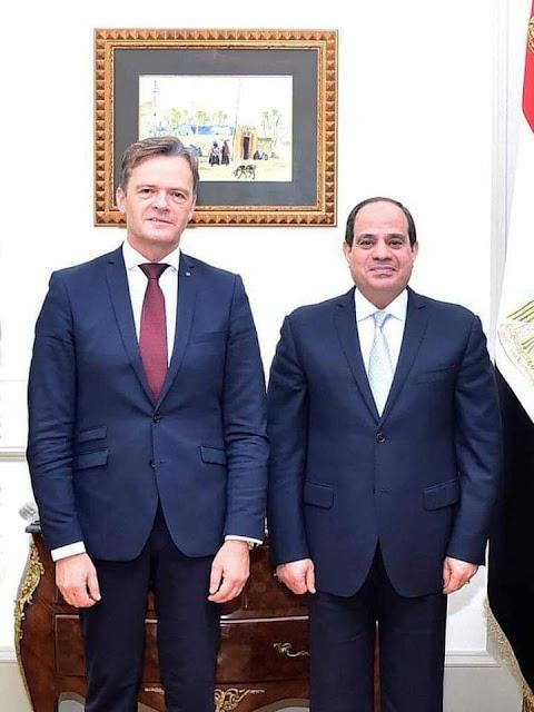"""مرسيدس"""" تعود للعمل في مصر بعد تدخل الرئيس السيسي"""""""