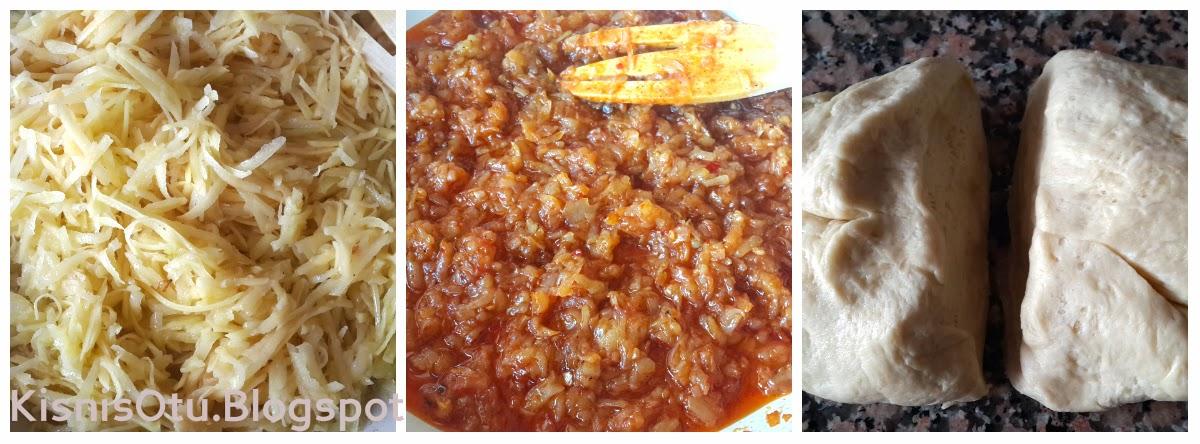 Patatesli Çörek Tarifi, Çörek, Börek, Hamurişi, Kahvaltılık, Nefis, Kişniş Otu