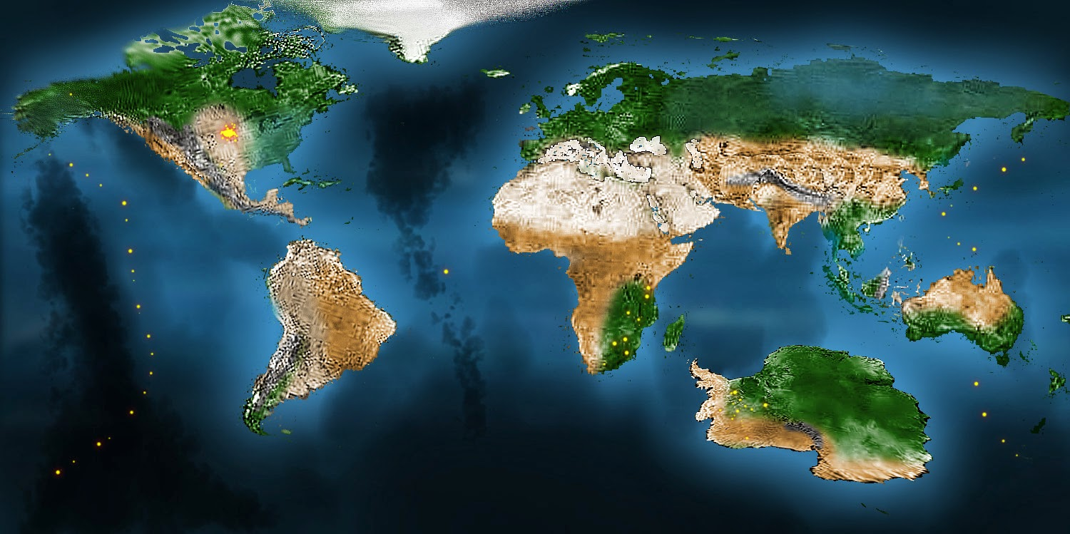 THDEN WHEJA Productions New Earth Map