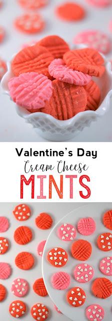 cream cheese mints valentine