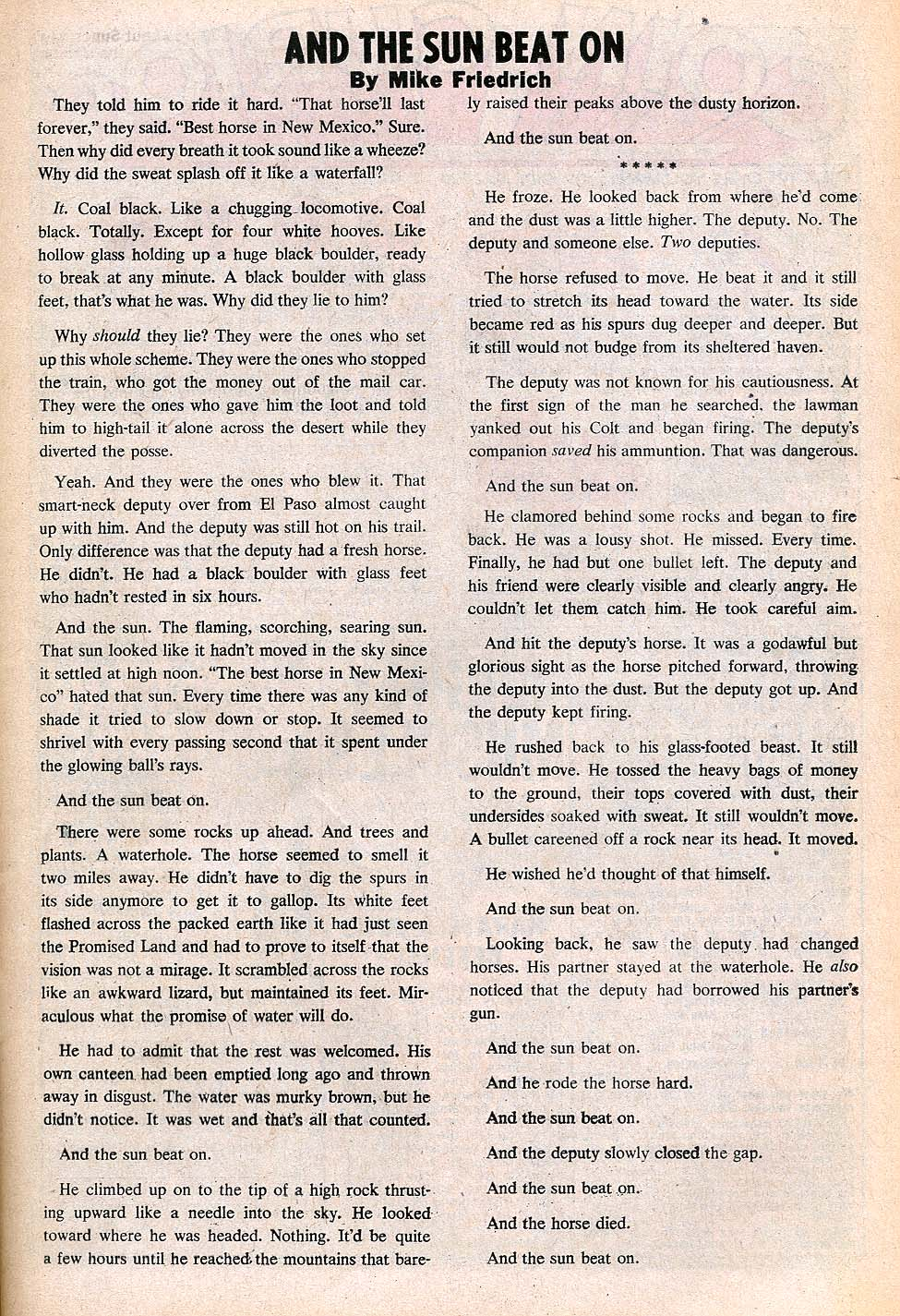 Read online All-Star Western (1970) comic -  Issue #3 - 11