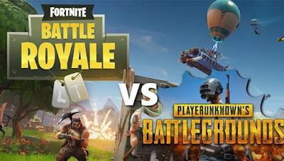 Fortnite vs PUBG Mobile