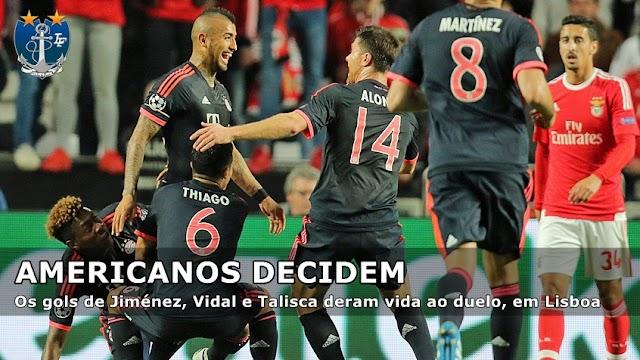 Bayern avança de fase diante do Benfica