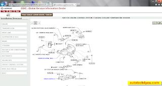 LEXUS IS250 mechanical repair