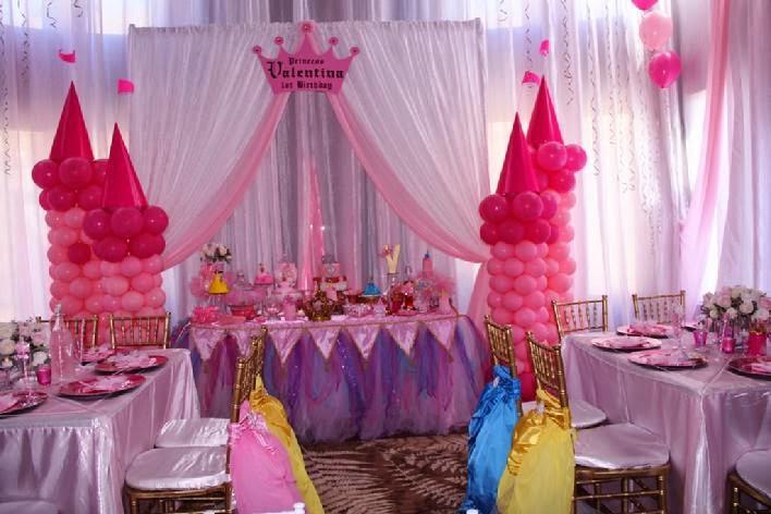 Festa com tema Princesas