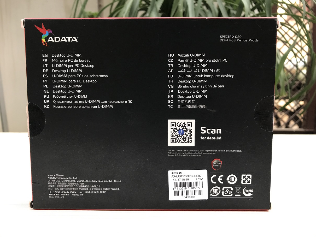 ADATA XPG Spectrix D80 16GB 3600Mhz Review ~ Computers and More