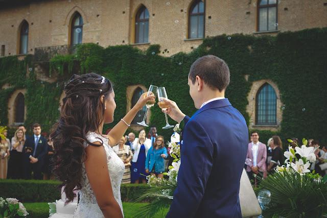 [Real Wedding] Matrimonio al Castello di San Gaudenzio a tema viaggio