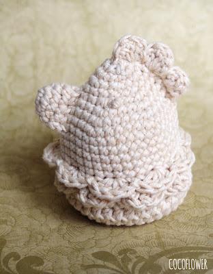 Tuto DIY - Cocotte de Pâques au crochet - ChezCocoFlower.blogspot
