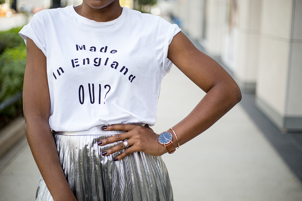 How to style a basic T-shirt