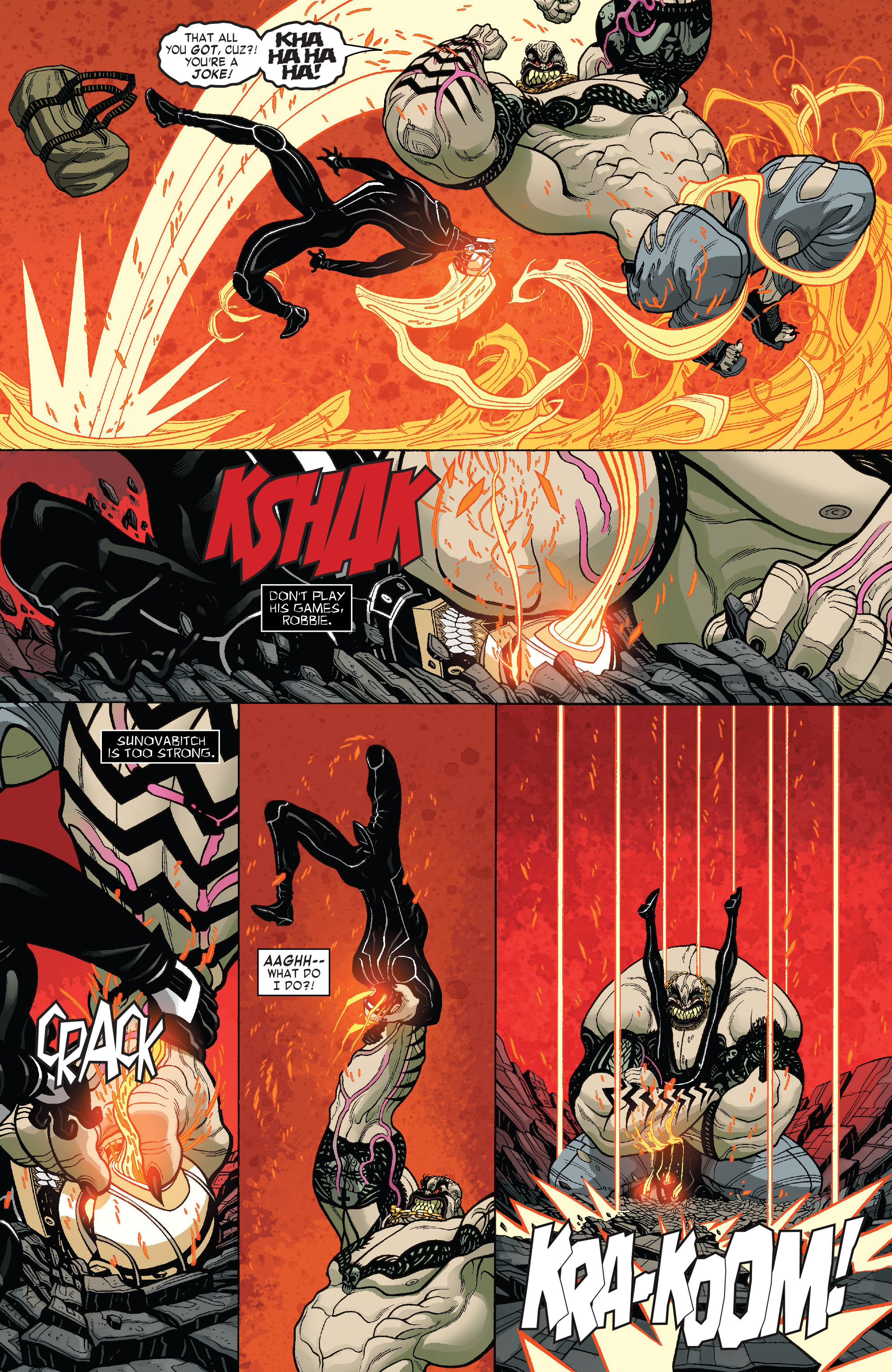 Read online All-New Ghost Rider comic -  Issue #4 - 5