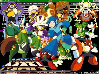 洛克人:墮落復仇(Mega Man:Revenge of the Fallen)!