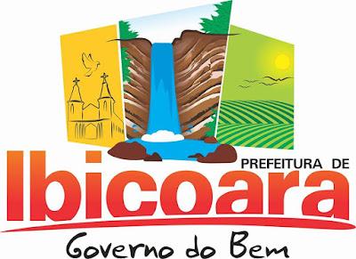 Logo da Prefeitura Municipal de Ibicoara da gestão de Haroldo Aguiar (Foto: Reprodução/ Facebook)