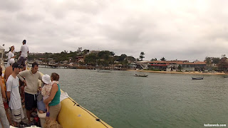 Retornando do passeio pelo litoral de Búzios/RJ.