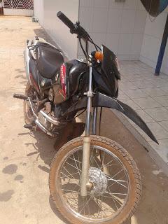 Moto roubada no Piauí é recuperada em Brejo-MA por Policiais Militares