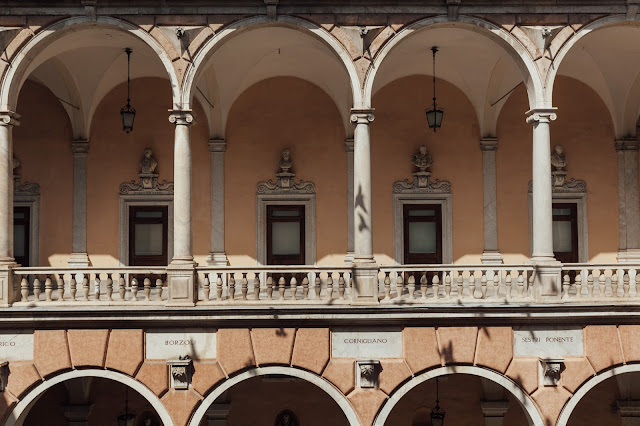 grand builing and home in genova italy