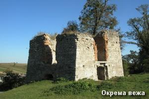 Окрема вежа у Свіржі