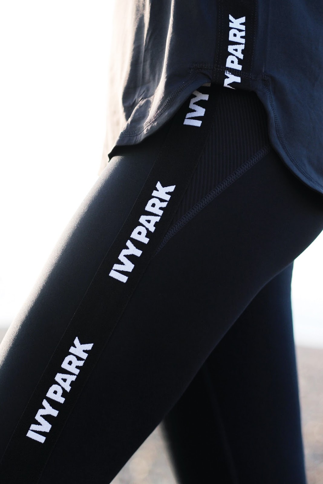 Ivy park Black and White Tape Tights