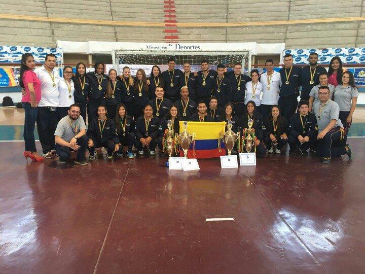 Colombia campeón IHF Trophy Sudamérica